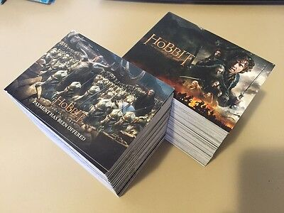 The Hobbit Battle of the Five Armies - LOTR - Trading Card BULK LOT of 270 - NM