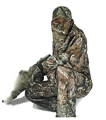 Waterproof Bionic Camo hunting Clothes Sniper Tactical Ghilie Suit jacket pants