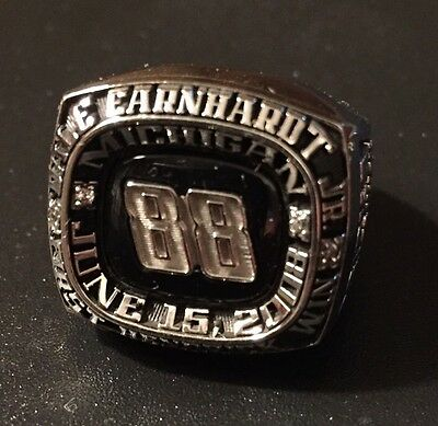 Dale Earnhardt Jr. 88 Michigan Hendrick 1st Nascar Pit Crew Win Ring