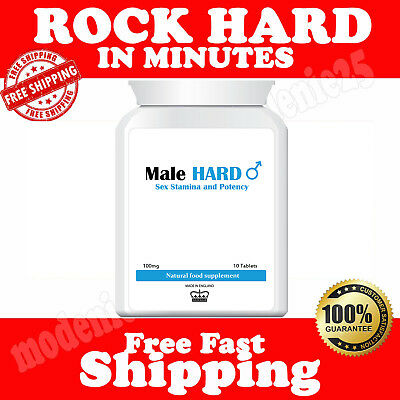 Herbal Blue Sex Tabs Double Strength Strong Supplement For Men GET REALLY HARD