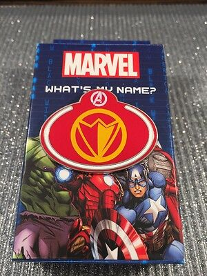 Disney Cast What's My Name Badge Mystery Falcon Marvel Tag Pin 108527 New
