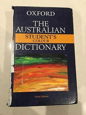 Oxford The Australian Student's Colour Dictionary Third Edition