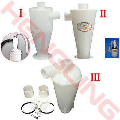 Dust Separation Cyclone Powder Collector Separator For Vacuums Cleaners Filter