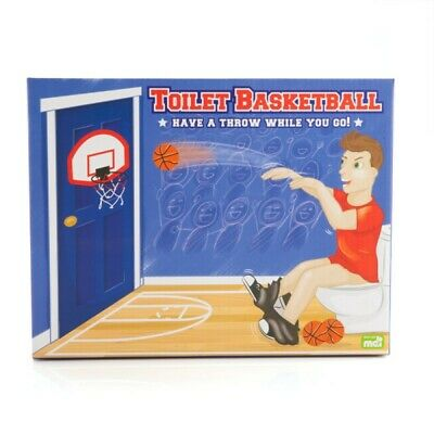 Slam Dunk N Flush - Novelty Toilet Basketball Gift Idea Funny Novelty Man Gag