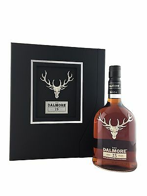 The Dalmore 25 year old Single Malt Scotch Whisky.70cl - 42%alc. Limited Edition