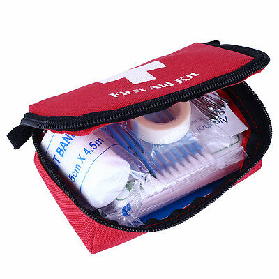 Travel First Aid Kit Bag Home Small Emergency Medical Survival Rescue Box