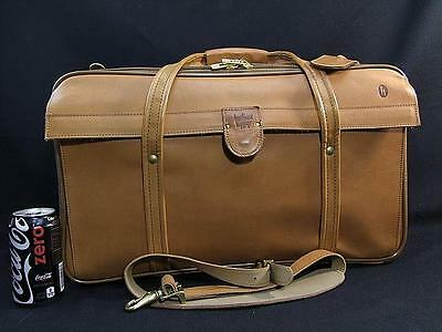 "New Vintage Hartmann 4400-C3 ""Jumbo Over"" British Tan Belting Leather Duffle Bag"