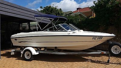 Bayliner 175 boat. New motor with warranty