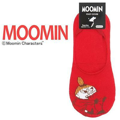 Moomin Valley Character Little My Red Foot Cover  One Pair 22-24cm