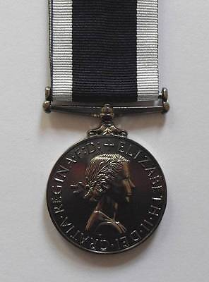 Medals - Royal Navy Eiir. Long Service And Good Conduct Medal - Full Size.