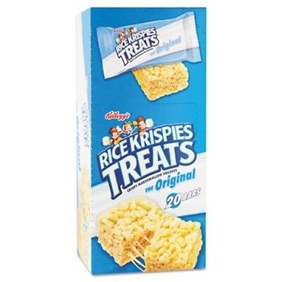 Rice Krispies Treats, Original Marshmallow, 1.3oz Snack Pack, 20/Box