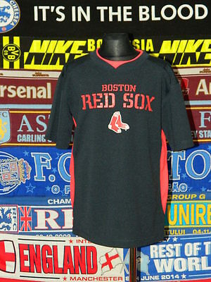 5/5 Boston Red Sox boys 10/12 years MINT baseball shirt jersey trikot camiseta