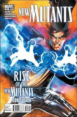 """New Mutants (2009, Marvel) #21-A  """"Rise of the New Mutants Pt.2"""""""