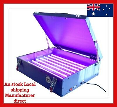 LED UV Exposure Unit Screen Printing Machine with Cover & 8 Tubes Equipment