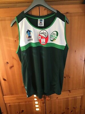 IRELAND rugby league vest BNWT SIZE SMALL