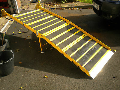 1060  Portaramp Disabled / Wheelchair Scooter ramp Used