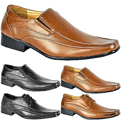 Mens Smart Wedding Shoes Italian Formal Office Work Casual Leather Dress Boots