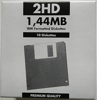 Floppy Disk 2Hd - 1,44 Mb Ibm Formatted Diskettes