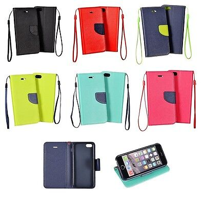 Custodia Slim Case Luxury Book Libro Portafogli Flip Cover interno silicone Tpu.