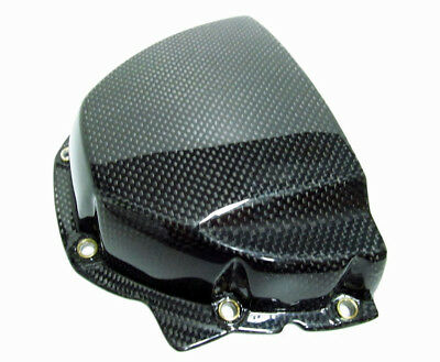 Triumph Speed Triple Carbon Fibre Sprocket Cover Gloss
