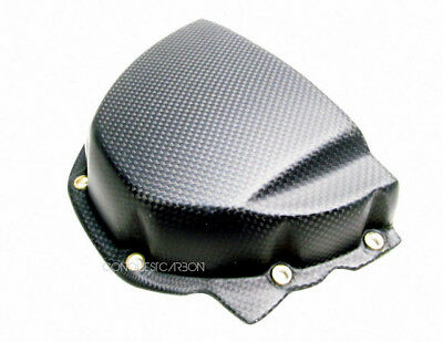 Triumph Speed Triple Carbon Fibre Sprocket Cover Satin 2011-15