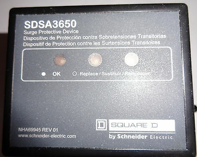 SQUARE D BY SCHNEIDER ELECTRIC SDSA3650 3 PH Surge Protector / Arrestor **NEW**