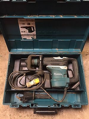 Makita Sds Max Breaker Hammer Drill Avt HR4013C Demolition 110v Volt