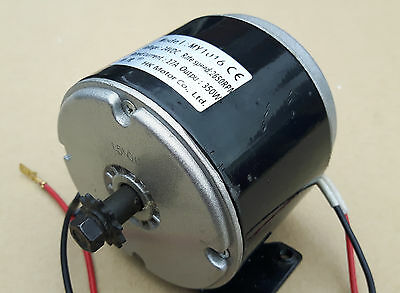 350W Electric Motor 24v Bike MY1016 Scooter 3000 RMP 18.4A 350 Watt 24 Volt