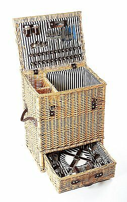 Greenfield Collection Carlton Willow 4 Person Picnic Hamper Lining