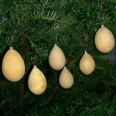 Egg Gourds - Craft Ready - Ornaments - Lot of 6