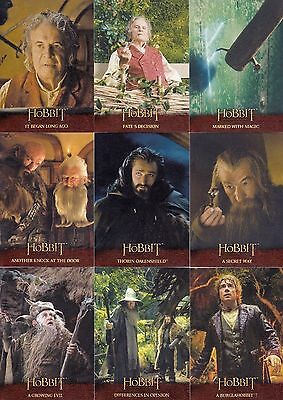 Hobbit - An Unexpected Journey - LOTR - Complete Card Set (101) - 2014 - NM