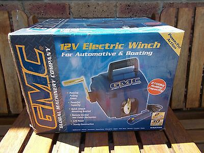 GMC 12V ELECTRIC WINCH for Automotive Boating and Caravan