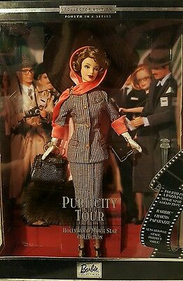Mattel Barbie Publicity Tour Hollywood Movie Star Doll