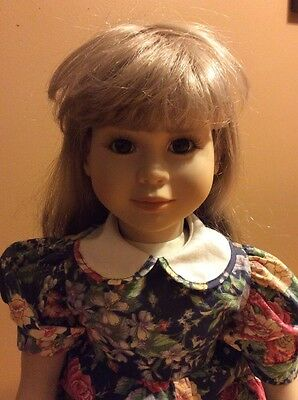 """My Twinn Doll 23"""" Blonde Hair Brown Eyes With My Twin Outfit"""