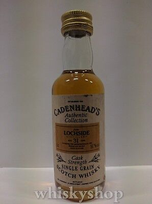 The Lochside Cask Strenght 31 Years 1962 Scotch Whisky MIGNON / MINIATURE Rare