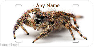 Jumping Spider Aluminum Any Name Personalized Novelty Car Auto License Plate P03
