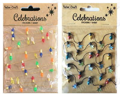 Value Craft Dimensional Garland Embellishment ~ Lights ~ 2 Colours Available!