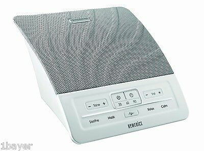 Homedics Health Care Deep Sleep Relaxation Sound Therapy Aid Timer Machine