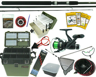 Complete Starter Fishing Set Kit + All The Tackle You Need To Go Fishing