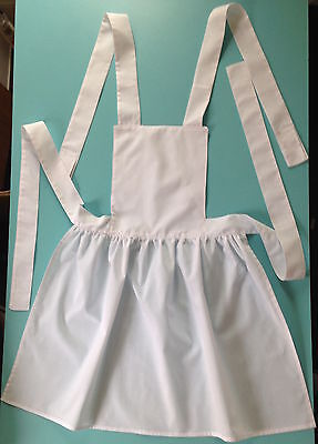 Handmade Girls Victorian Style Apron Kids Fancy Dress Book day Party Costume new