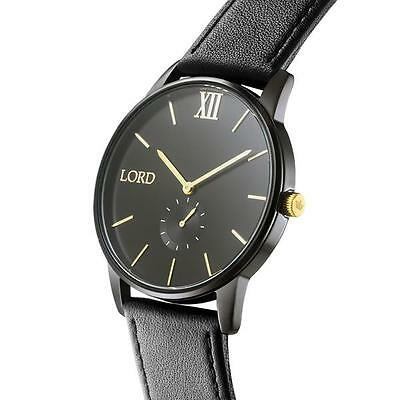 Lord Timepieces Solitude Black Gol