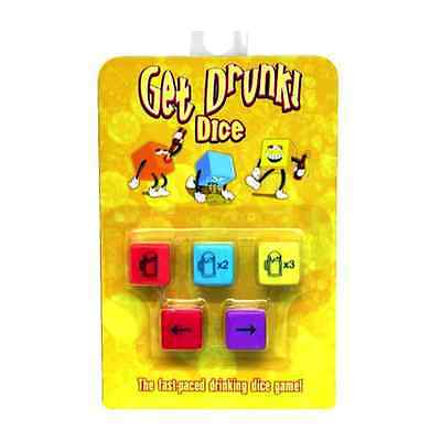 Get Drunk! Dice   Adult Drinking Game   Hen Stag Bachelorette   Party Fun