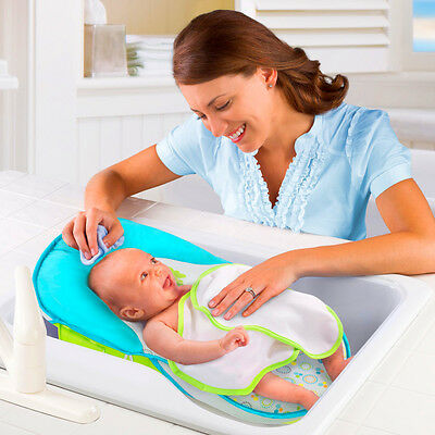 Summer Infant Bath Sling with Warming Wings Safe Baby Bathtub Seat Bather NEW
