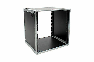"OSP 12 Space Rack Amp, Effects, Server Install Studio Case | 12U 19"" Audio Video"
