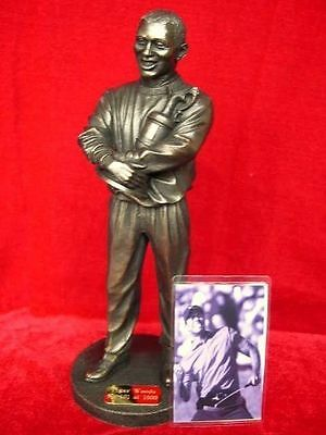 Tiger Woods Limited Edition Figurine Model Holding U.s. Open Cup Legends Forever