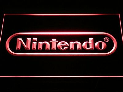 20+ Colors Multicolored Nintendo Game Beer Bar Pub Neon Sign with Remote Control