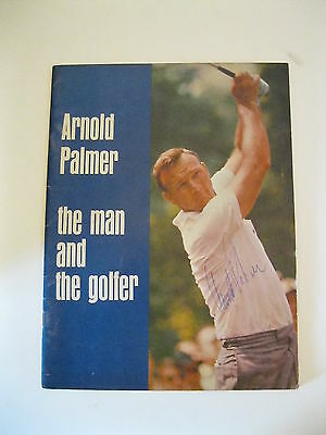 Autographed Vol. 1 Arnold Palmer the Man and the Golfer Magazine 1966 1st