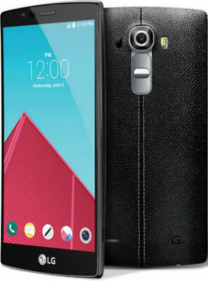 LG G4 H815 (Latest Model) - 32GB - Black Leather (Unlocked) Smartphone