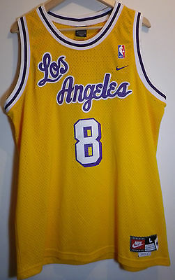Maillot Jersey - Kobe Bryant # 8 / Los Angeles Lakers - NIKE Size L 61