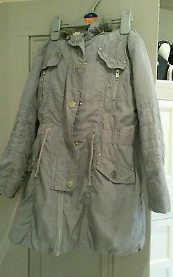 girls next winter coat in well used condition aged 5-6 years
